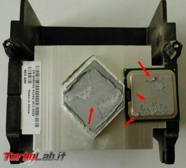 Cosa fare quando processore computer scalda troppo