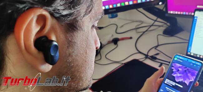 Coumi ANC-860: recensione prova auricolari Bluetooth Senza Fili (TWS) - IMG_20210412_103557