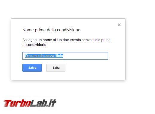 Creare documenti condivisi LibreOffice, Google Documenti Microsoft Office - 2017-04-27 16_00_13-Documento senza titolo - Documenti Google