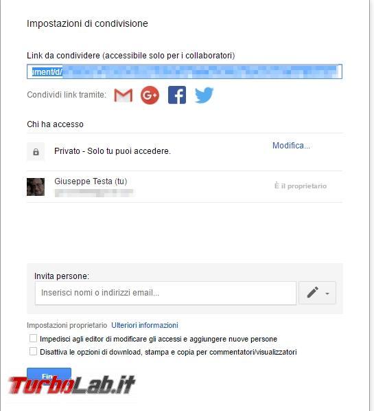 Creare documenti condivisi LibreOffice, Google Documenti Microsoft Office - 2017-04-27 16_01_06-Prova - Documenti Google