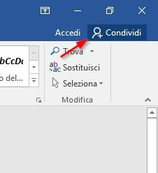 Creare documenti condivisi LibreOffice, Google Documenti Microsoft Office - 2017-04-27 16_14_42-Documento1 - Word