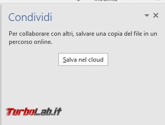 Creare documenti condivisi LibreOffice, Google Documenti Microsoft Office - 2017-04-27 16_41_09-Documento1 - Word