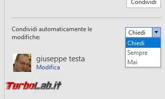 Creare documenti condivisi LibreOffice, Google Documenti Microsoft Office - 2017-04-27 17_21_07-doc1 (Ultimo salvataggio dell'utente) - Word