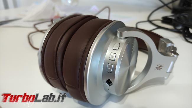 Cuffie Bluetooth OneOdio Fusion A70: recensione prova - IMG_20201027_093721