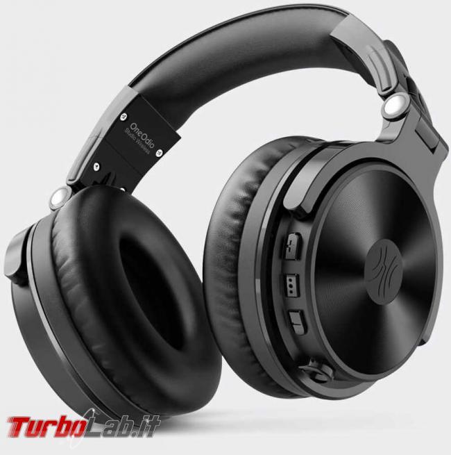 Cuffie Bluetooth OneOdio Studio Wireless C: recensione prova - oneodio cuffie studio wireless