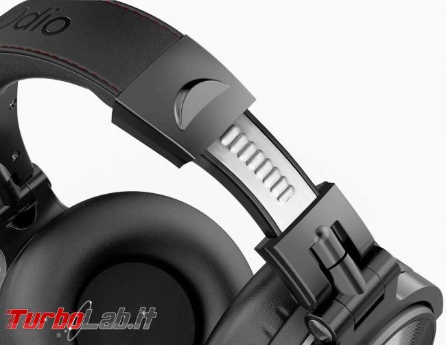 Cuffie Bluetooth OneOdio Studio Wireless C: recensione prova - oneodio cuffie studio wireless 3
