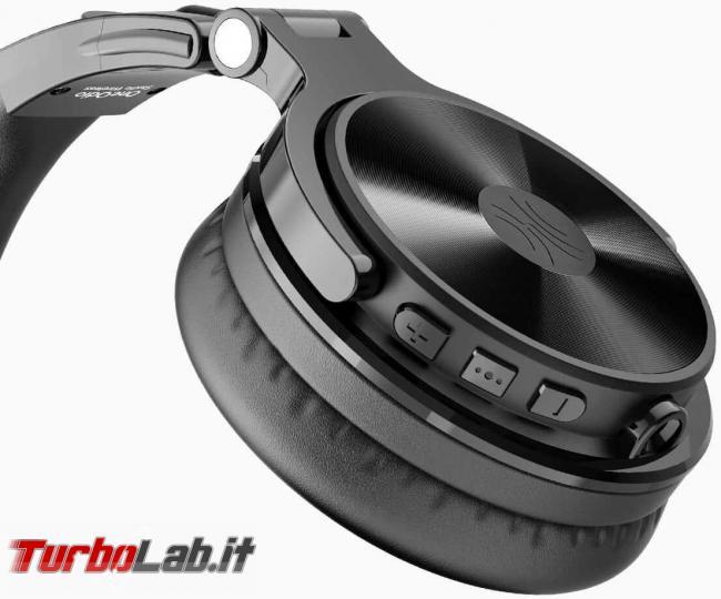 Cuffie Bluetooth OneOdio Studio Wireless C: recensione prova - oneodio cuffie studio wireless 4