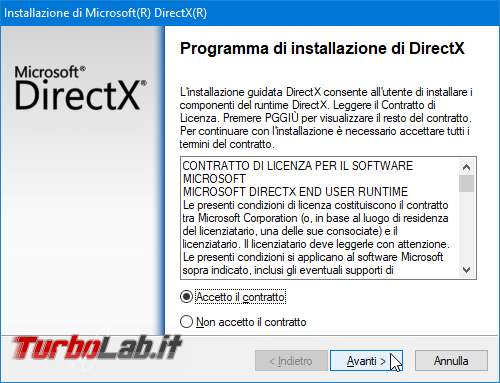 DirectX (ultima versione): download diretto Windows
