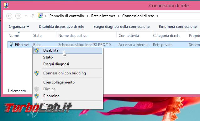 Disabilitare scheda rete connessioni Windows: guida rapida - connessioni di rete disabilita connessione