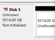 Disco non inizializzato: come inizializzare disco fisso / SSD Windows (MBR/GPT) - disco non inizializzato