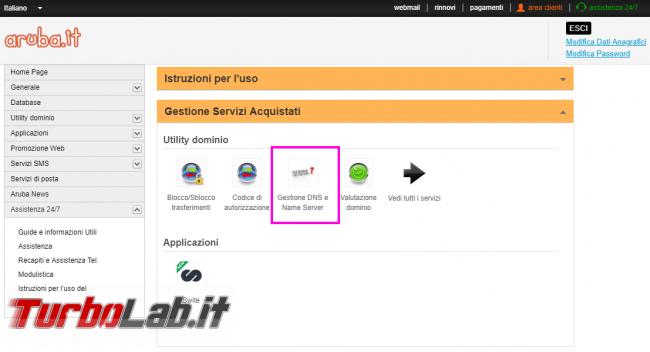 DNS Aruba: come abbassare/ridurre TTL? - Mobile_zShot_1532972131