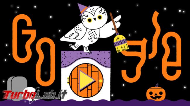 doodle Google celebra Halloween ... animali! - FrShot_1572510698