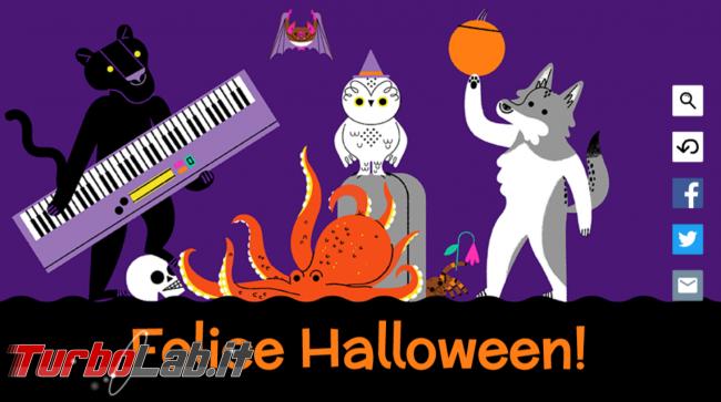 doodle Google celebra Halloween ... animali! - FrShot_1572512778
