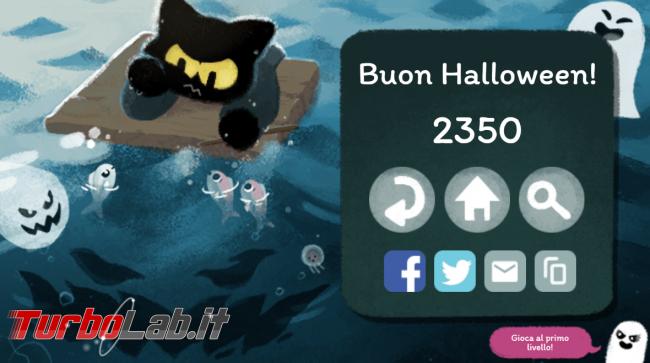 doodle Google Halloween ti sorprende simpatico videogioco - FrShot_1604126691