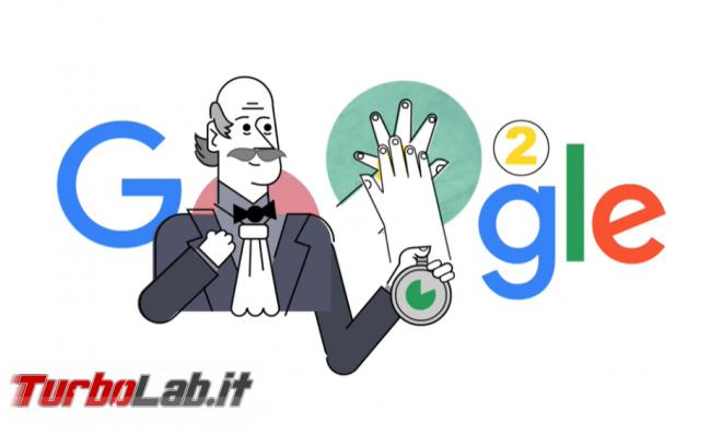 doodle Google ricorda importanza lavarsi bene mani - FrShot_1584693335