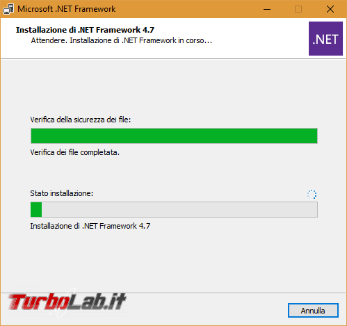 Download .NET Framework 4.7: ultima versione, setup completo, italiano Windows 10, Windows 8.1 Windows 7 (installazione / Offline Installer) - Microsoft net framework install 2
