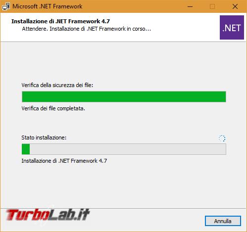 Download .NET Framework 5: ultima versione, setup completo, italiano Windows 10, Windows 8.1 Windows 7 (installazione / Offline Installer) - Microsoft net framework install 2