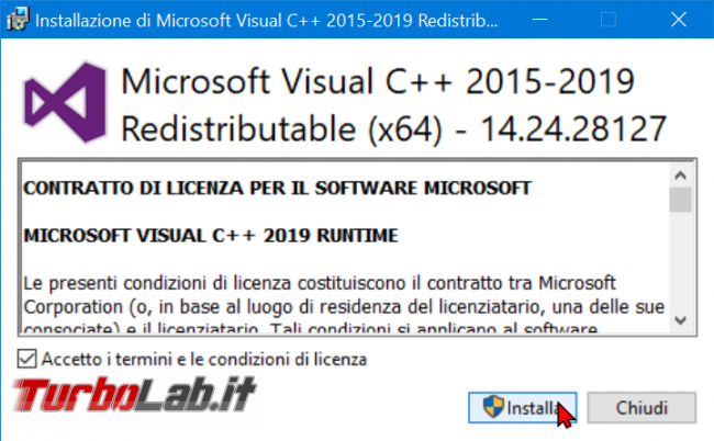 Download Microsoft Visual C++: quale versione devo installare? Dove scaricare ultima versione italiano Windows 10, Windows 8.1 Windows 7?