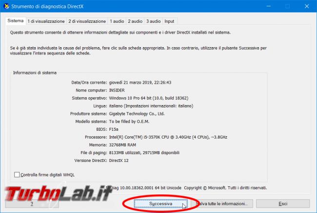 Driver GPU: come scoprire versione WDDM supportata - zShot_Insider_1553204310