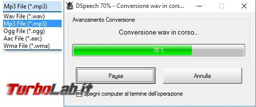 DSpeech legge documenti li trasforma file audio