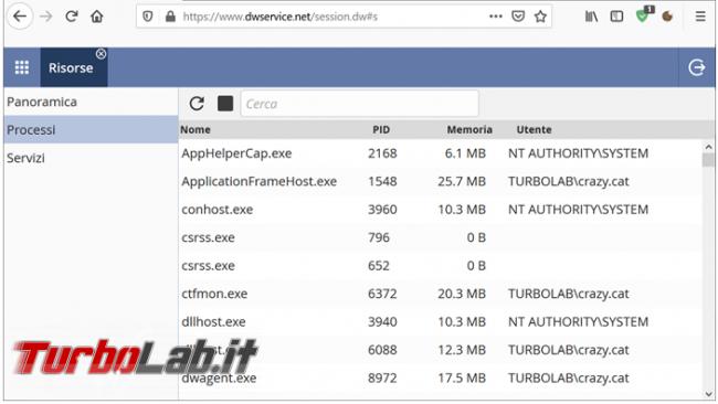DWService è l'alternativa open source Teamviewer (guida)