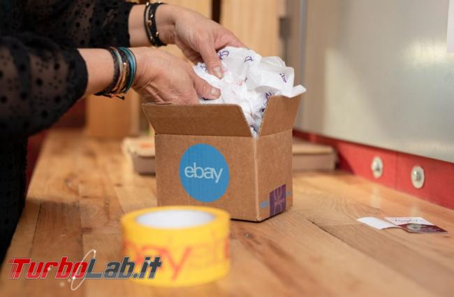 eBay migliora logistica stare passo Amazon - Annotazione 2019-07-29 082438