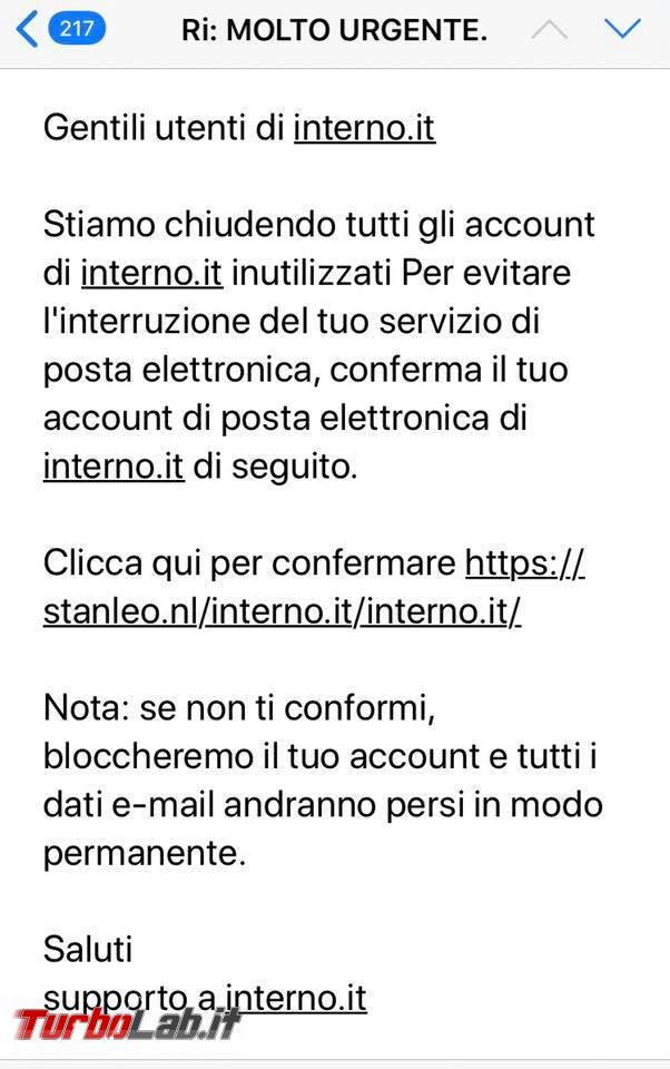 Email interno.it: è phishing! - 118041584_1705032542991753_7479436222922337475_n