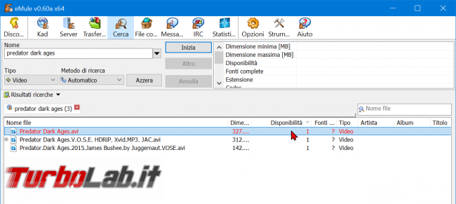 eMule 2020, come scaricare: Guida Definitiva (download configurazione, nuova versione) - zShotVM_1602793316