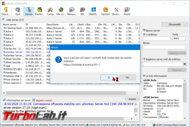 eMule 2021, come scaricare: Guida Definitiva (download configurazione, nuova versione) - zShotVM_1603014977