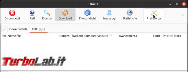 eMule Linux (Ubuntu): download, configurazione guida completa aMule (video) - Schermata del 2021-04-18 11-52-06