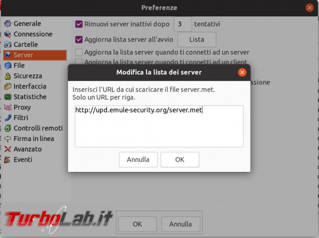 eMule Linux (Ubuntu): download, configurazione guida completa aMule (video) - Schermata del 2021-04-18 12-06-14