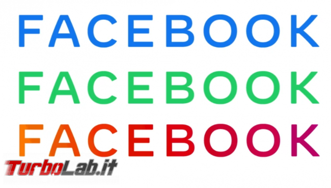 Facebook Inc. crea nuovo logo far sapere possiede Instagram WhatsApp - FrShot_1572887984
