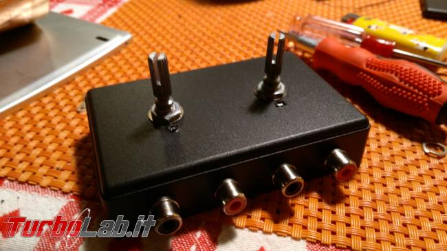 Fai te: mixer passivo due canali stereo - IMG_20180220_001314