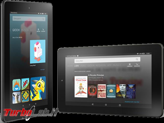 """Fire 7"""" (2015): esperienza d'uso prova completa tablet 60 € Amazon - amazon fire 7 2015 fire os 5"""