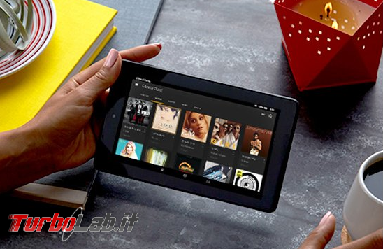 """Fire 7"""" (2015): esperienza d'uso prova completa tablet 60 € Amazon - amazon fire 7 2015 hands"""