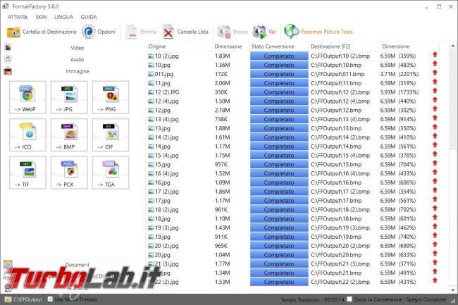Format Factory conversione file video, audio immagini non sarà più problema