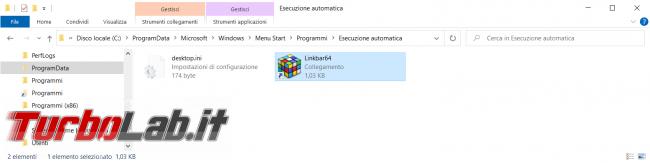 Forzare inserimento programma esecuzione automatica