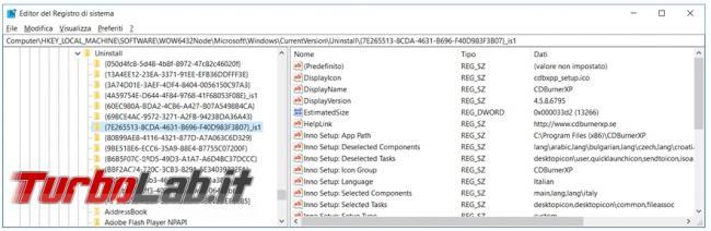 Geek Uninstaller disinstallatore programmi non lascia tracce residue sistema operativo