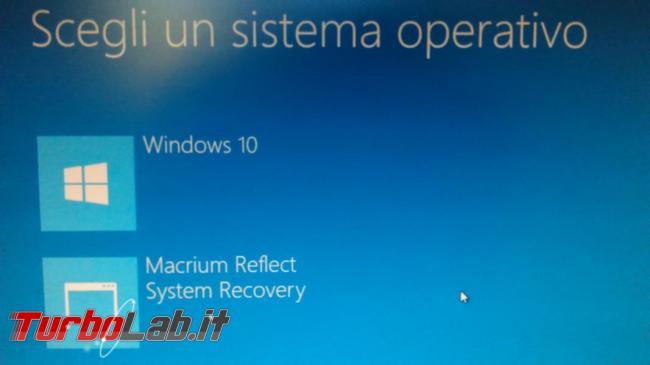 Gestisci bootloader Windows EasyBCD