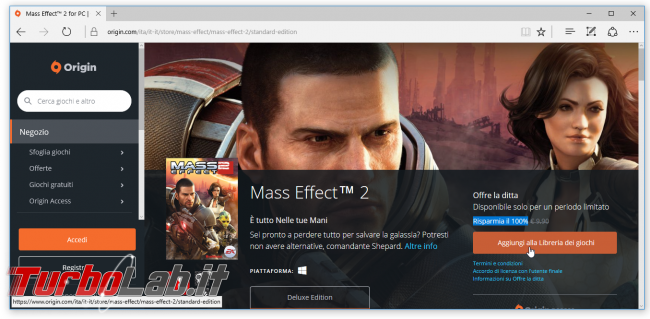 gioco Mass Effect 2 è regalo tempo limitato - Mobile_zShot_1483665360