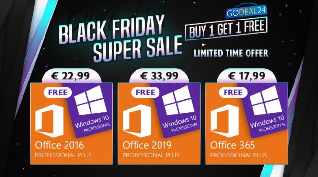 Godeal24.com Black Friday SUPER SALE: Windows 10 è gratis! - FrShot_1606137881_