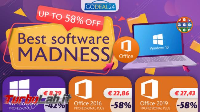Godeal24.com: sconto 58% solo questa settimana. Windows 10 PRO soli € 8,29 Office soli € 22,86! - FrShot_1598967915