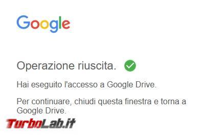 Google Backup and Sync Google Drive for desktop: mini-guida veloce transizione necessaria, indolore - Google Drive_006_ITA