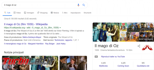 Google ricorda Mago Oz easter egg ...capogiro! - FrShot_1566914719