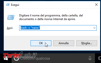 Grande Guida Bash Windows 10: come installare Sottosistema Windows Linux (WSL) ed eseguire programmi Linux/Ubuntu sotto Windows 10 - windows 10 esegui bash nano