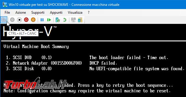 Grande Guida Hyper-V Windows 10: creazione macchine virtuali (VM), installazione guest Windows/Linux accesso file rete