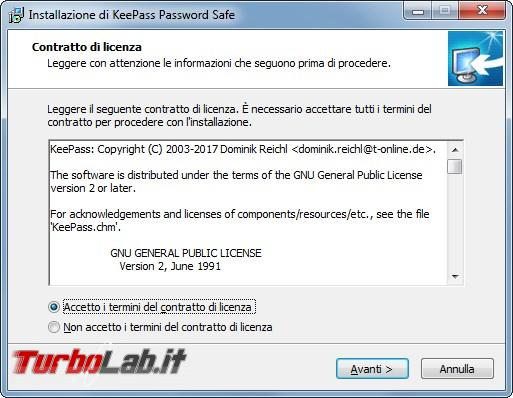 Grande Guida italiano Keepass: come custodire password unico programma - 2017-03-13 15_26_31-Installazione di KeePass Password Safe