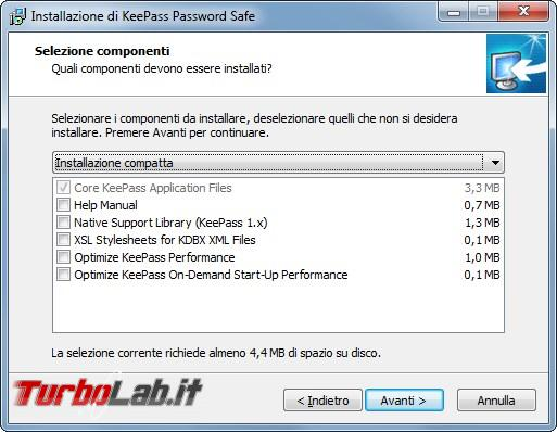 Grande Guida italiano Keepass: come custodire password unico programma - 2017-03-13 15_29_11-Installazione di KeePass Password Safe