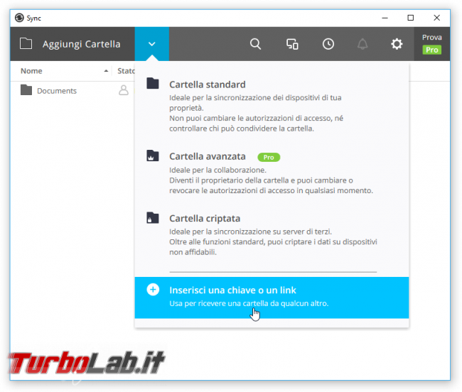 "Grande Guida Resilio Sync (BitTorrent Sync) - alternativa Dropbox, senza ""cloud"""