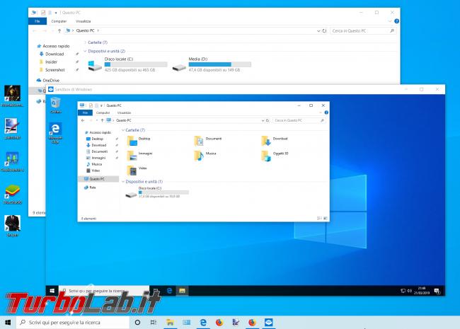 Grande Guida Windows 10 1903 (19H1): tutte novità Aggiornamento Maggio 2019 - zShot_Insider_1553201369